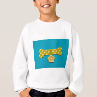 Spotty Dog Bone - g.jpg Sweatshirt