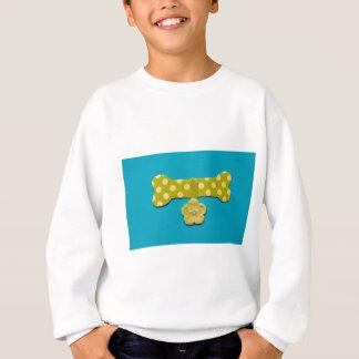 Spotty Dog Bone - h.jpg Sweatshirt