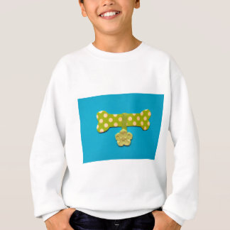 Spotty Dog Bone -k.jpg Sweatshirt