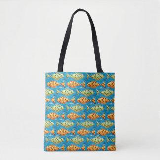 Spotty Fish Tote Bag