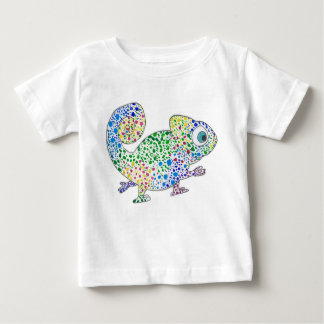 Spotty Marcel the Chameleon Baby Tshirt