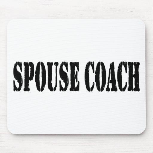 Spouse Coach Mousepads