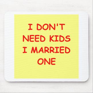 spouse joke mouse pads