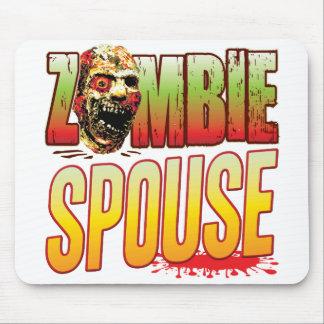 Spouse Zombie Head Mousepad