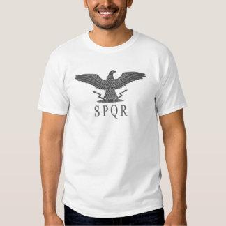 SPQR Eagle Coal Light T-Shirt