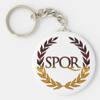 SPQR KEY RING