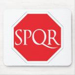 SPQR Roman Road Mousepads
