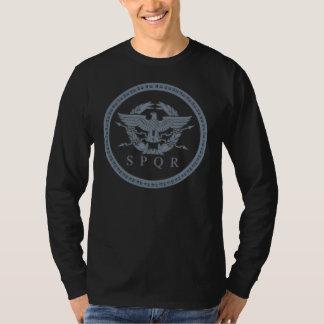 SPQR The Roman Empire Emblem Long Sleeve Shirt