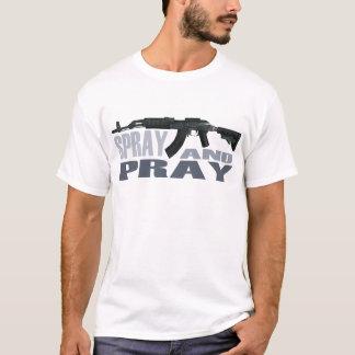 !!! SPRAY AND PRAY AK47 !!! Men's Basic T-Shirt