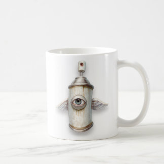 """Spray Bird"" Mug"