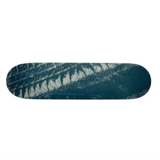 'SPRAY' (BLUE) skateboard