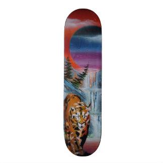 spray can art 21.6 cm old school skateboard deck