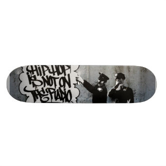 Spray Cops Deck. Custom Skateboard
