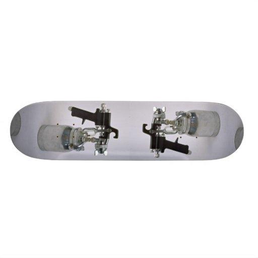 Spray-gun Skateboard Decks