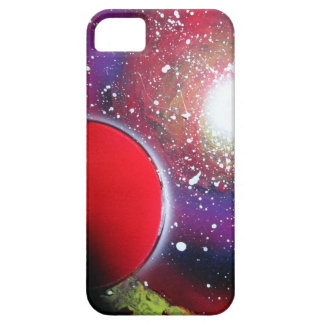 Spray Paint Art Space Galaxy Painting iPhone 5 Cases