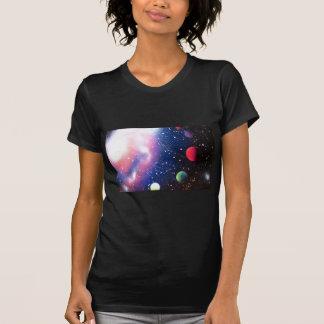 Spray Paint Art Space Galaxy Painting T-Shirt