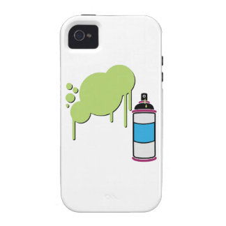 Spray Paint iPhone 4 Cover