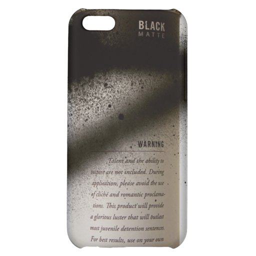 Spray Paint iPhone Case iPhone 5C Cases