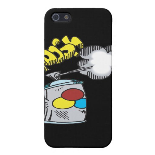 Spray Paint iPhone 5 Cover