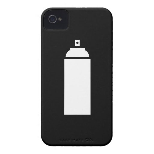 Spray Paint Pictogram iPhone 4 Case