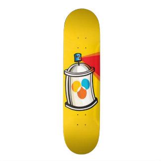 Spray Paint Skateboard