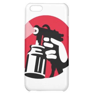 spray painter spray paint worker hand retro iPhone 5C cases