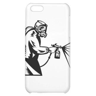 spray painter spray paint worker iPhone 5C case