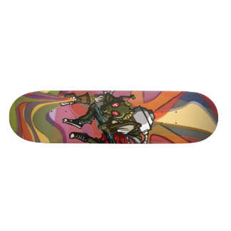 Spray the Colors! Skateboards