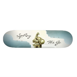 SpRay The GO Custom Skate Board