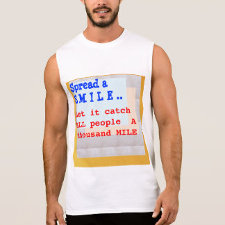 SPREAD A SMILE SLEEVELESS T-SHIRTS