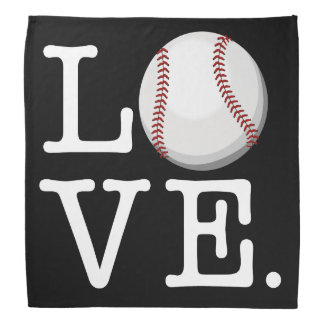 Spread Baseball Love | Baseball Fan Bandana