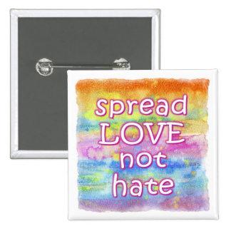 Spread Love Button - Square