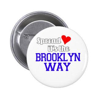 Spread Love The Brooklyn Way Button
