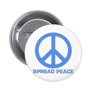 Spread Peace Products 6 Cm Round Badge