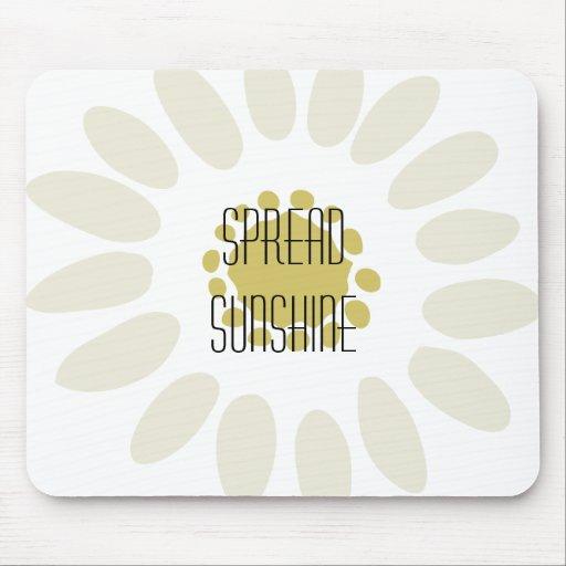 Spread Sunshine Mousepad