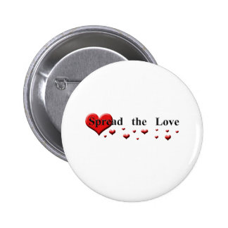 Spread the Love 6 Cm Round Badge