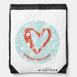 'Spread the Love' Drawstring Backpack