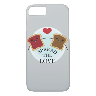 SPREAD THE LOVE iPhone 8/7 CASE