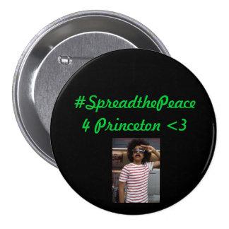 Spread the Peace 7.5 Cm Round Badge