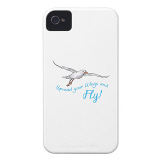 SPREAD WINGS AND FLY iPhone 4 Case-Mate CASE