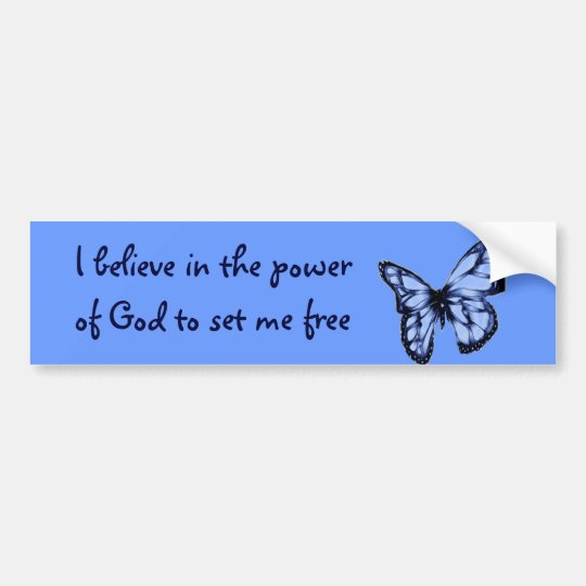Spread your wings #3 bumper sticker