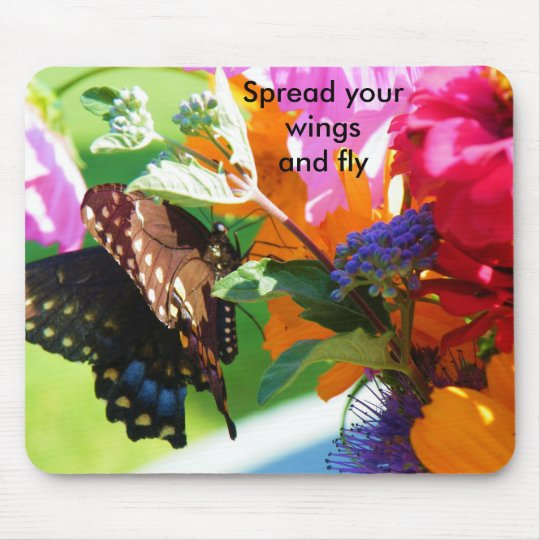 Spread your wings and fly mouse mat