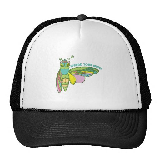 Spread Your Wings Mesh Hat