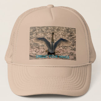 SPREAD YOUR WINGS TRUCKER HAT