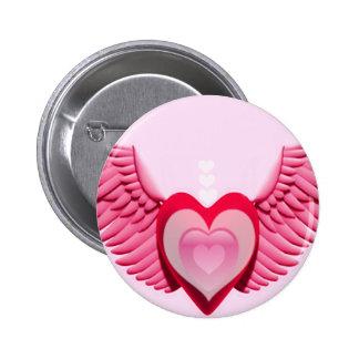 Spreading Love_ 6 Cm Round Badge