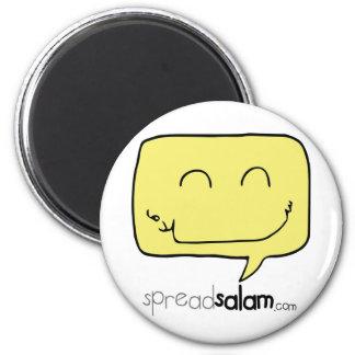 SpreadSalam 6 Cm Round Magnet