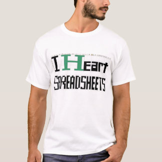 spreadsheets2 T-Shirt