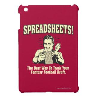 Spreadsheets: Track Your Fantasy Football Draft iPad Mini Cover