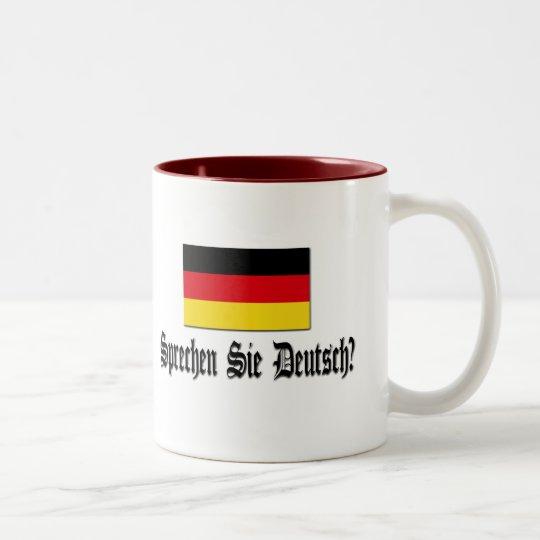 Sprechen Sie Deutsch? Two-Tone Coffee Mug