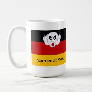 Sprechen sie Geist German National Flag Basic White Mug
